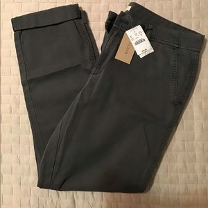 NWT! Women's J. Crew Slim Chino Pants Size 4